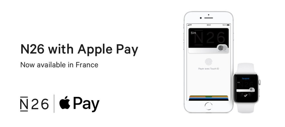 DM46vthWkAALxfL.jpg-large 💳 N26 x APPLE PAY: C'EST FAIT !