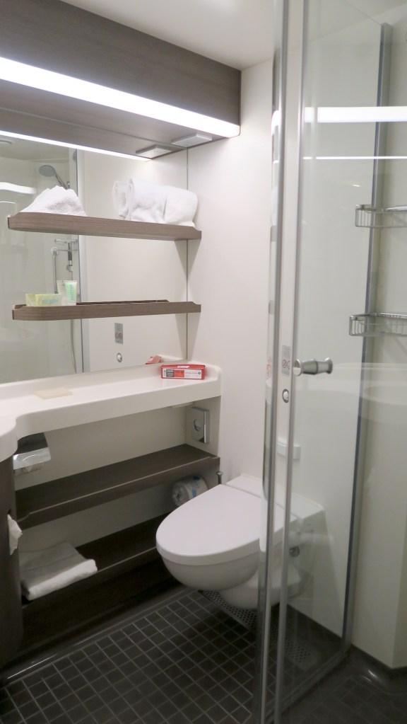 Norwegian Bliss Balcony Cabin Bathroom