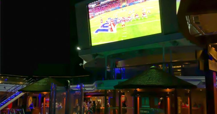 Watching the Super Bowl on a Carnival Cruise