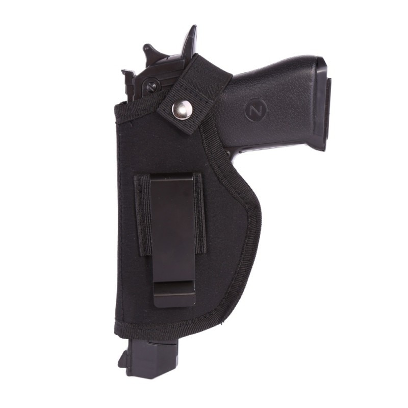 Left and right universal Gun Holster Concealed Carry Holsters Belt Metal  Clip Holster Airsoft Gun Bag Hunting Articles For All S -