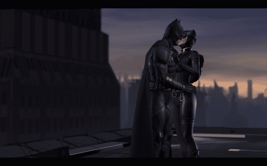 Batman The Enemy Within Episode 3 Fractured Mask - Batman and Catwoman