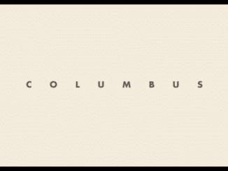 Columbus - Title Card