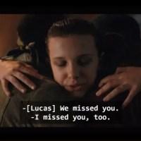 Strange Things Season 2 - Lucas, Eleven and Dustin
