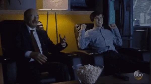 The Good Doctor Season 1 Episode 7 22 Steps - Dr. Glassman and Shaun
