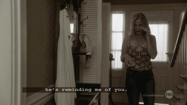 Good Behavior Season 1 Episode 9 And I Am A Violent Criminal - Estelle