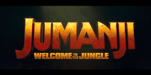 Jumanji Welcome To The Jungle - Title Card