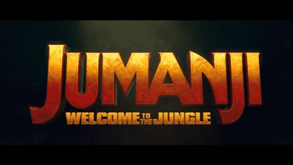 Jumanji Welcome To The Jungle - Title Card