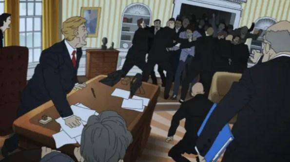 Devilman Crybaby - Donald Trump