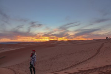 Sunset in Sahara - After