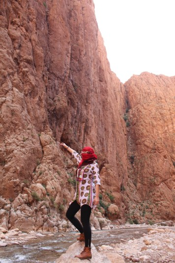 Todra Gorge - Before