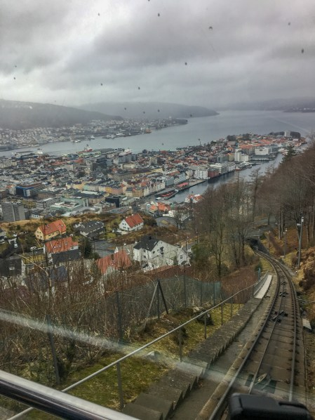 take the funicular to Floyen