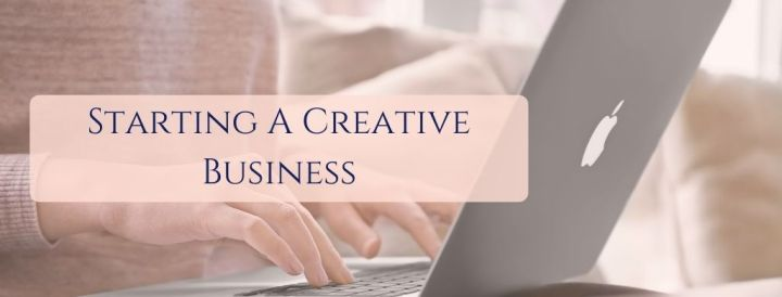 Starting a creative business