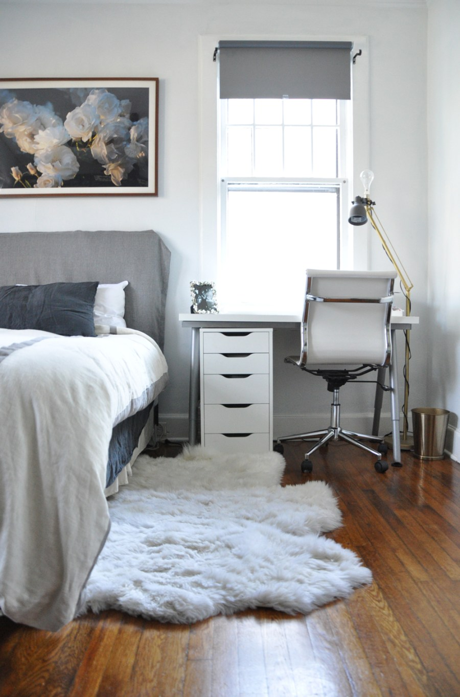 05-life-changing-magic-of-tidying-up---bedroom-after---white-and-grey---scandinavian-style