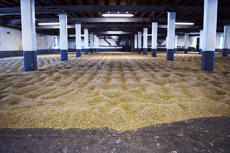 22-The-Barlay-Malting-Floor-at-Laphroaig-Distillery-in-Islay-Scotland