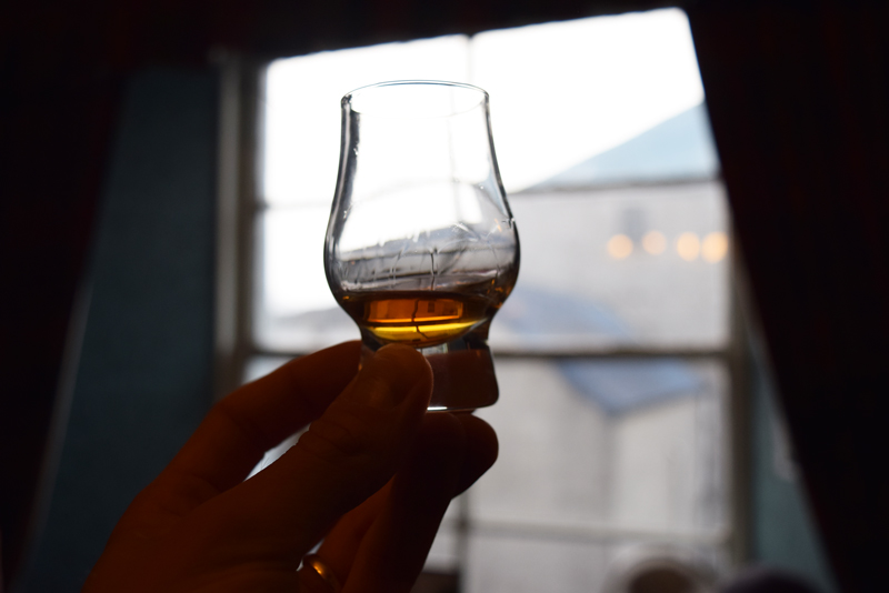 42a-The-Last-Dram-at-Bunnahabhain-Distillery-in-Islay-Scotland-Whisky-Tour-with-Scottish-Routes