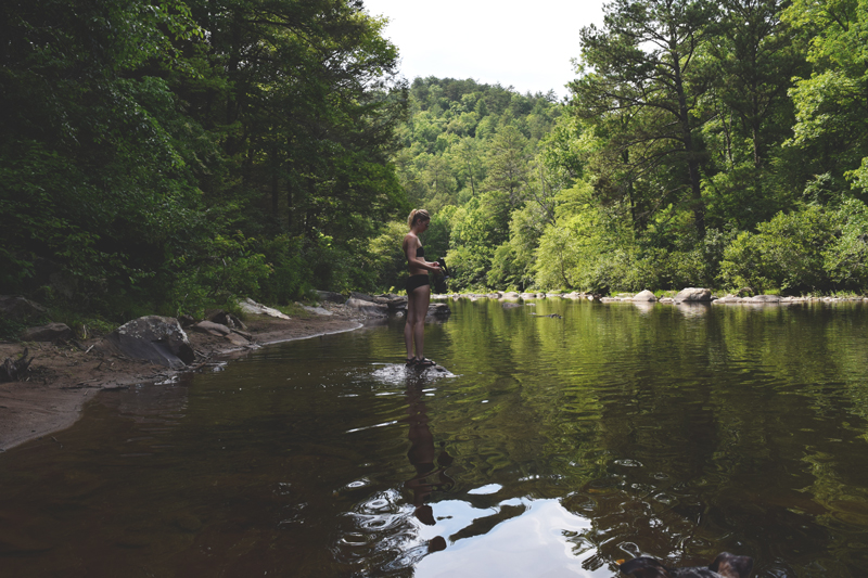 Snorkeling-on-the-Conasauga-River-in-Cherokee-National-Forest-Tennessee---Smarson-Full-Face-Snorkel-Review-from-Amazon-Prime