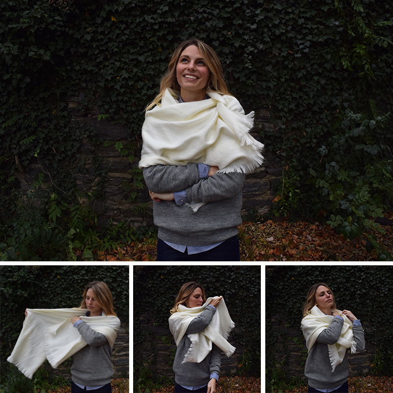 how-to-make-a-long-scarf-look-like-a-poncho-cape-wrap-chakanu-alpaca-wool-shawl