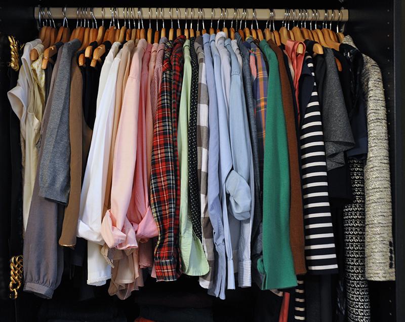 Peek in my closet August 2013