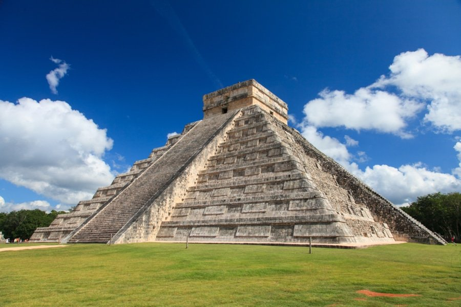 Pyramids Central America Map
