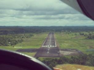 Landing strip Bluefields Nicaragua - Where you go next
