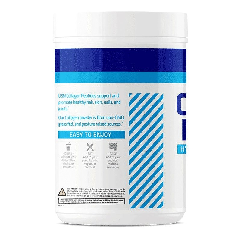vibrance collagen peptides sin sabor usn lateral