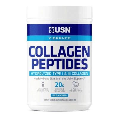 vibrance collagen peptides sin sabor usn