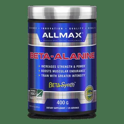 beta alanine sin sabor 400 gramos allmax