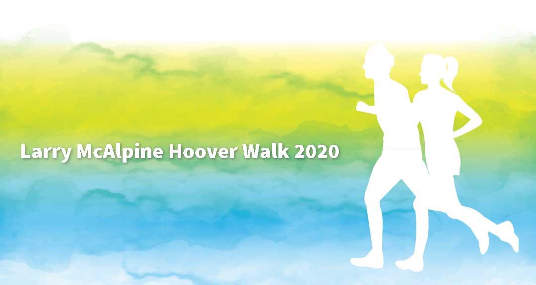 Larry McAlpine Hoover Walk 2020