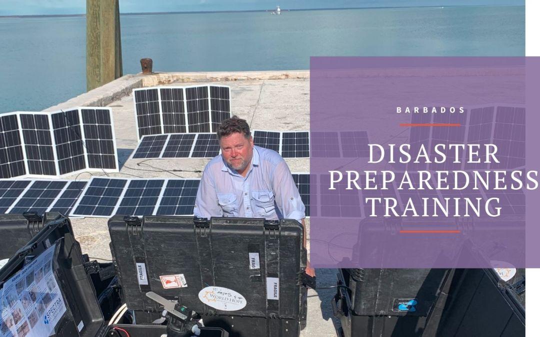 Disaster Preparedness Training in Barbados
