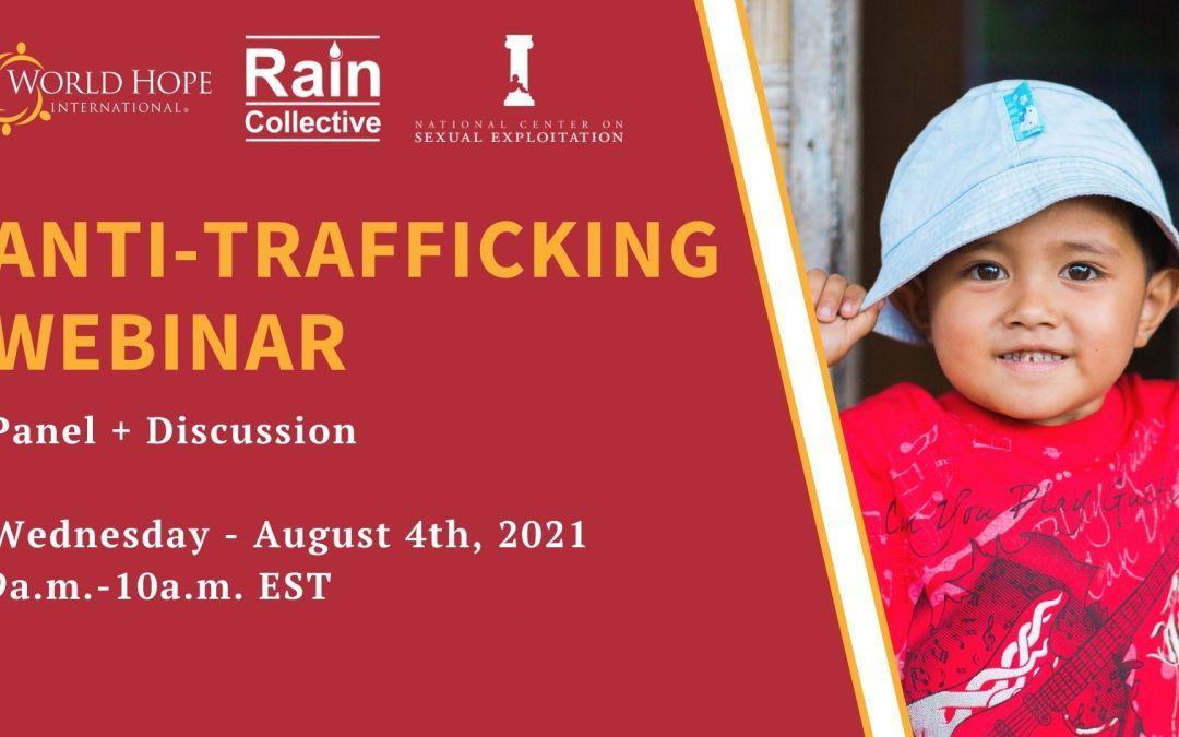 Anti-Trafficking Webinar