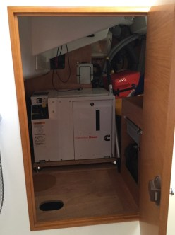 Jeanneau Sun Odyssey 389 Systems Area Access