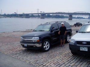 We drove the Chevy to the levy but the levy was dry (in St. Louis).