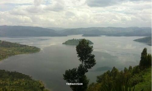 Lakes Burera and Ruhondo