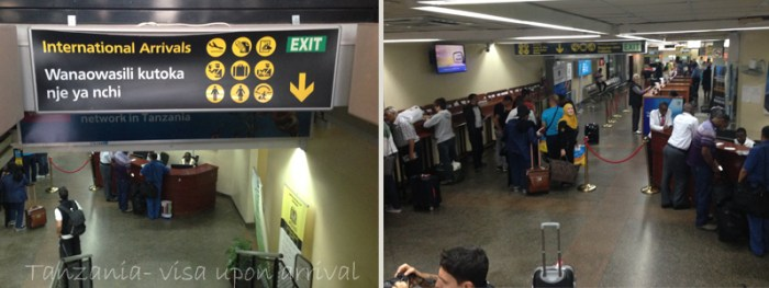 tanzania visa on arrival dar es salaam while in africa