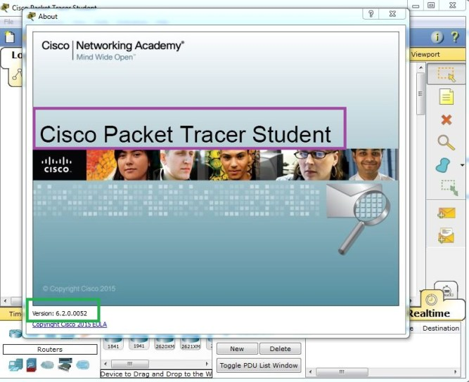 cisco packet tracer 6.2 for windows, with tutorial version. student version