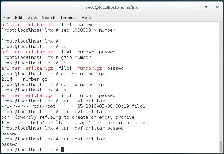 Compression file folder in Linux - The Ultimate goal for