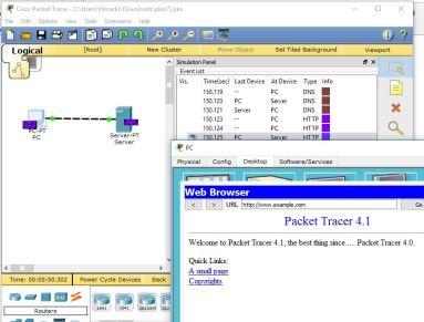 Network server & client server architecture