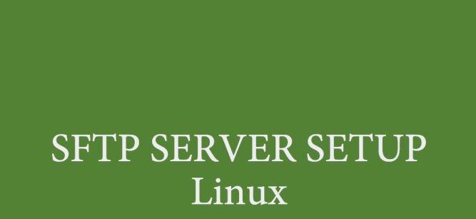 Setup sftp server linux