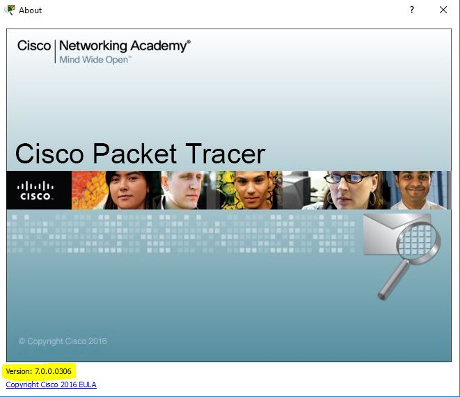 Cisco packet tracer 7