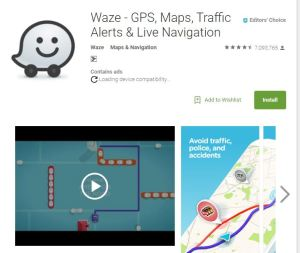 Waze: Community-based navigation
