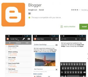 Blogger: Build an online presence for free