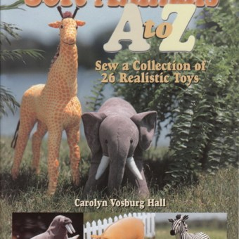 Book Review: Soft Animals A to Z by Carolyn Vosburg Hall