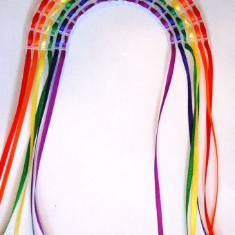 Kid's Craft: How to Make an Easy Rainbow Weaving