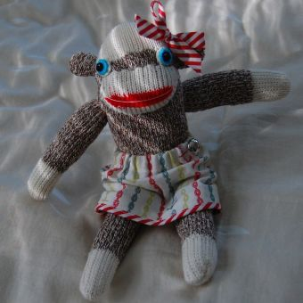 Sock Monkey Workshop at Gather Here