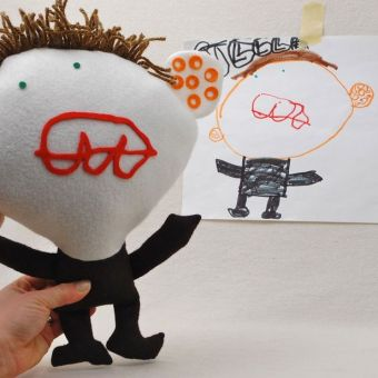 Custom Plush: From A Child's Drawing