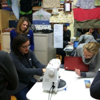 Diversify Your Income Stream: Teach People to Use Their Sewing Machines
