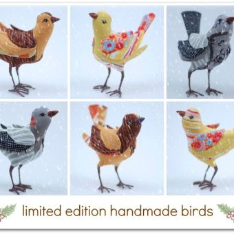 Brand New Handmade Birds in the Shop Today!