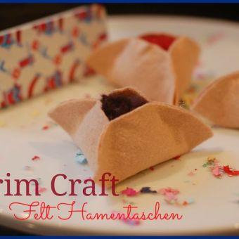 Easy Purim Craft: No-Sew Felt Hamentaschen