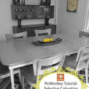 PicMonkey Tutorial: Selective Coloration