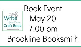 Write Your Own Craft Book: An Event at Brookline Booksmith